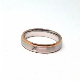 Abielusõrmus, punase kulla äärega