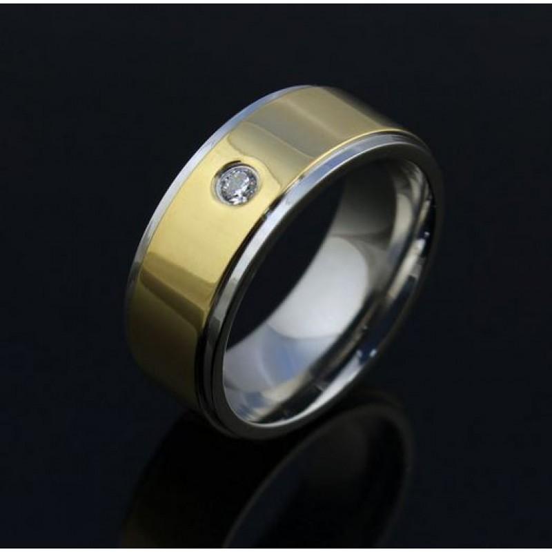 a667c1869ff Sõrmus - kullatud, tsirkooniga