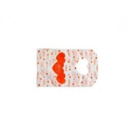 Pakkekotike - oranzid südamed, väiksem kotike