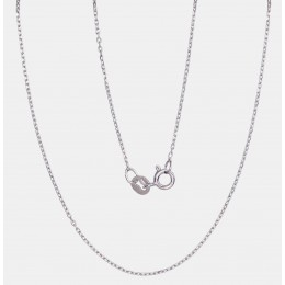 Hõbekett 'Anchorkantide teemanttöötlus 1 mm' 2400072(PRh-Gr)