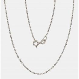 Hõbekett 'Anchorkantide teemanttöötlus 1 mm' 2400084(PRh-Gr)
