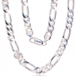 Hõbekett Figaro 7 mm kantide teemanttöötlus 2400142